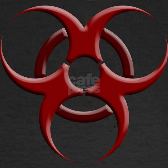 Biohazard Symbol Dark Shirts