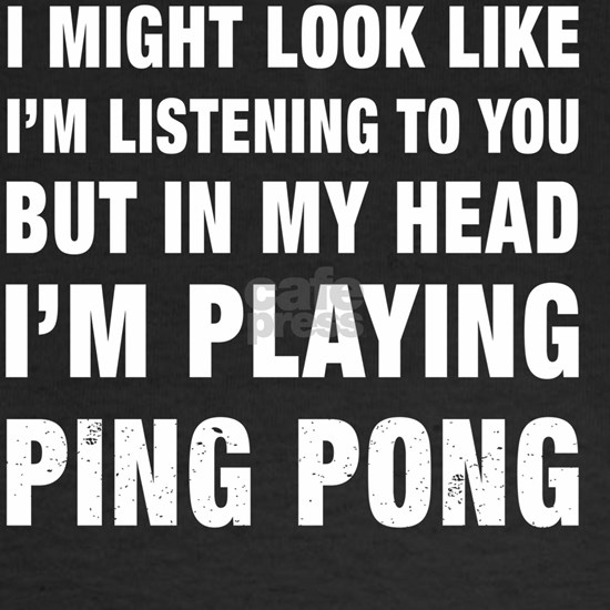 Funny I'm Playing Ping Pong product