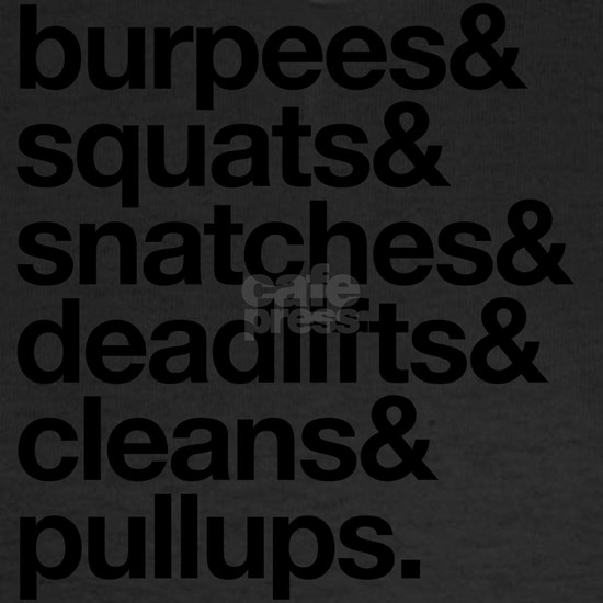 Crossfit Essentials Black Text