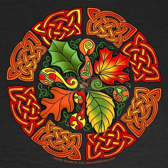 Celtic Autumn Leaves
