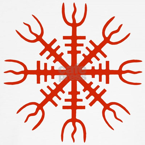 The Aegishjalmur Viking symbol