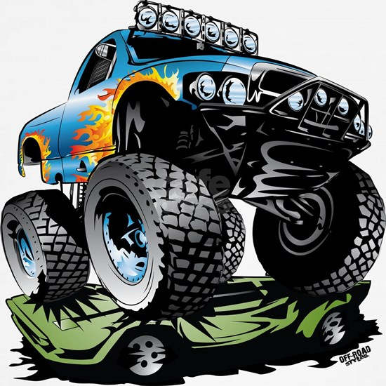 Monster Race Truck Crush