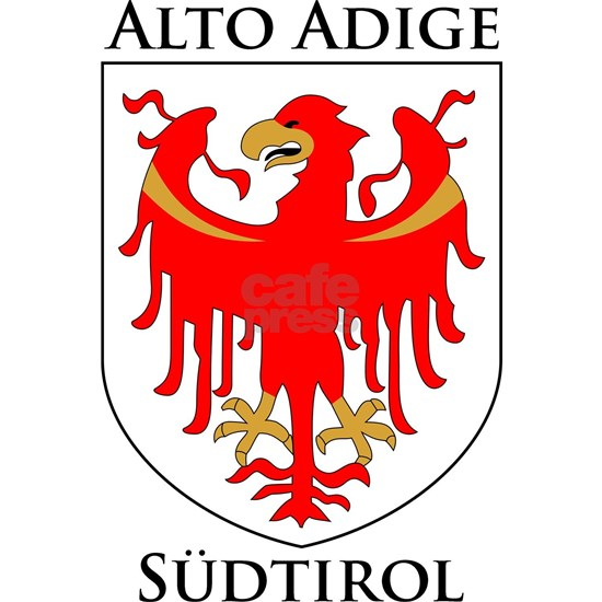 Alto Adige Sudtirol Graphic Black Text