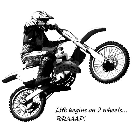Dirtbike White