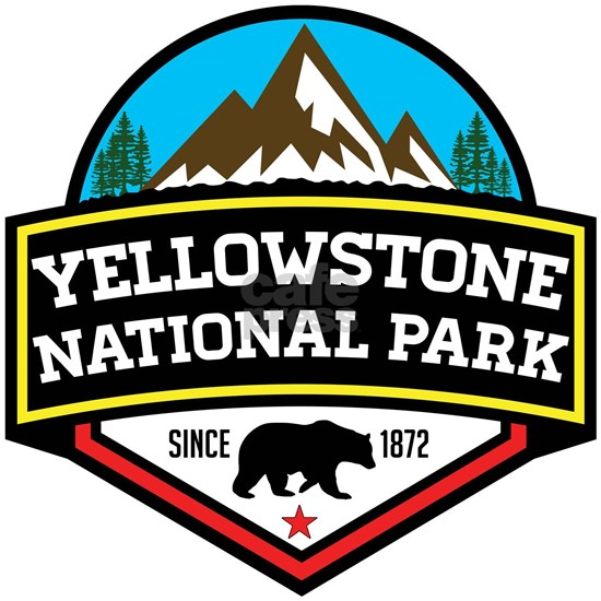 YELLOWSTONE NATIONAL PARK WYOMING BEAR 1872 HIKING