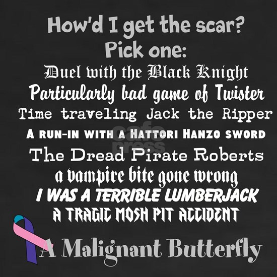 malignant butterfly