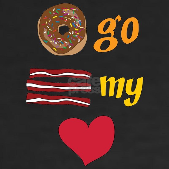 Donut Go Bacon My Heart