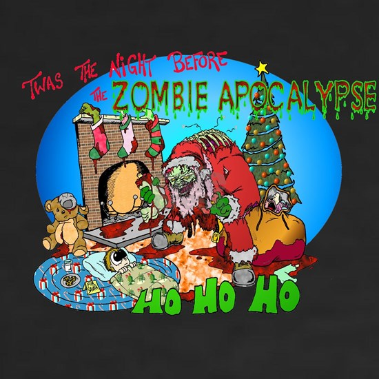 Twas the Night Before Zombie