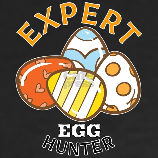 Expert Egg Hunter Funny Easter Egg print