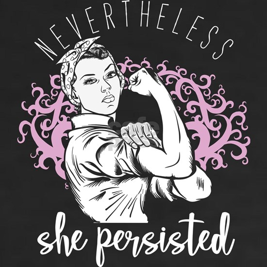 Strong Women Motivational Quote Nevertheless She P