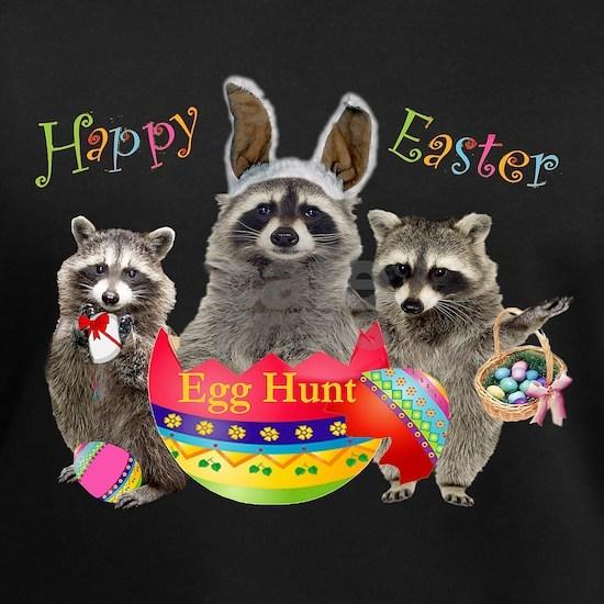 Raccoon Easter Egg Hunt