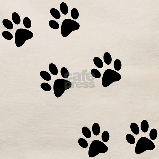 pawprints black