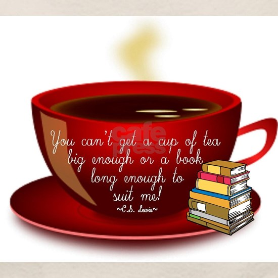 C.S. Lewis Tea Quote