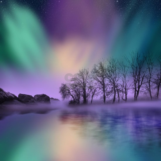 """dawn of the north"" - The Northern Lights"