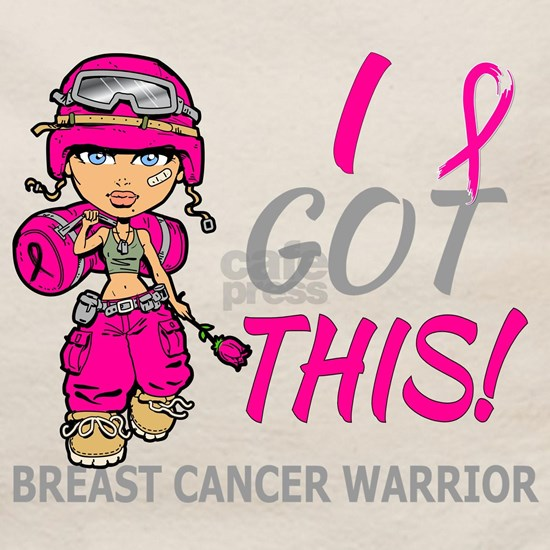 -Combat Girl 2 Breast Cancer