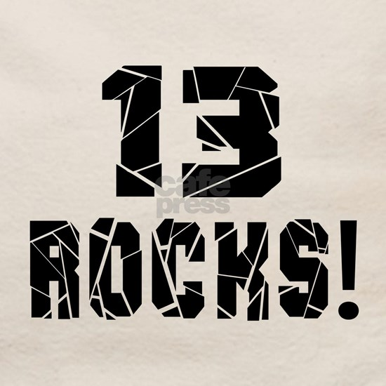 13 Rocks Birthday Designs