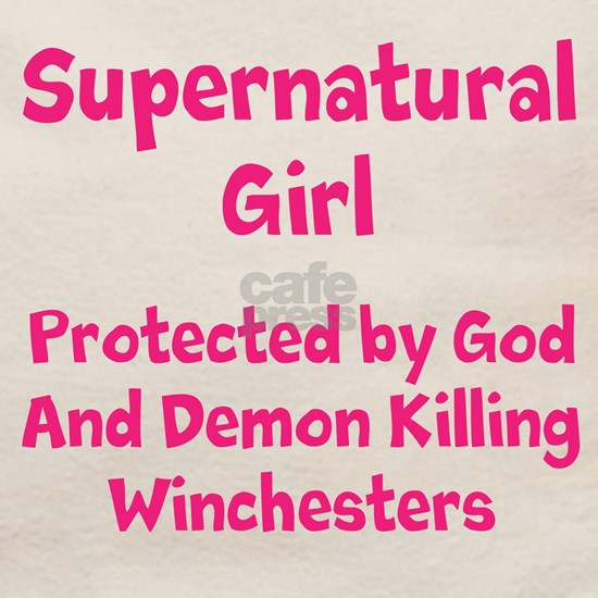 Supernatural girl protected by God