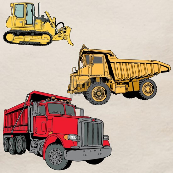 Construction Site Vehicles.