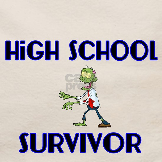 High School Survivor-Zombie-blue