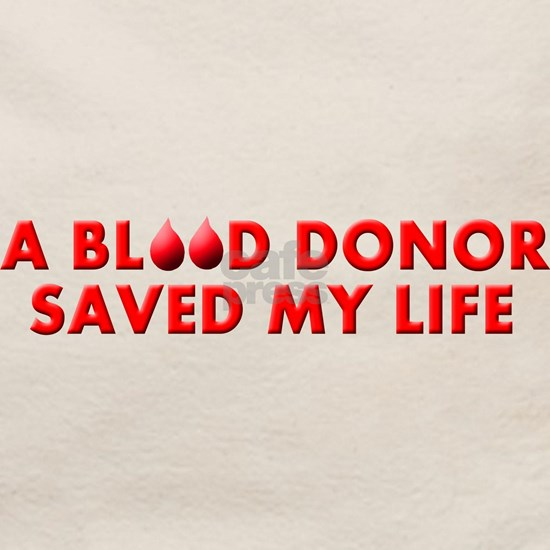 BLOOD DONOR SAVED