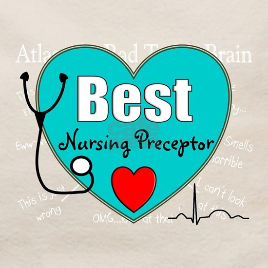 Best Nursing Preceptor blue
