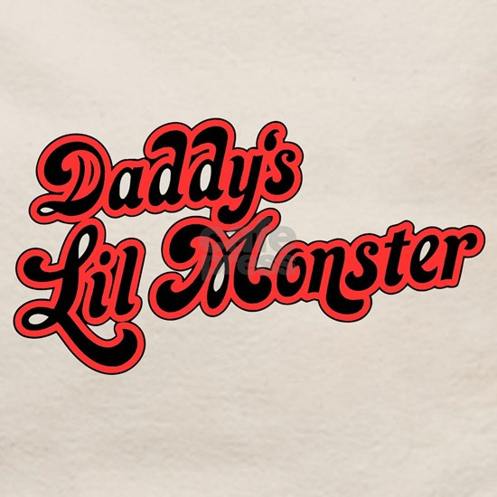Inspiration Text - Daddy's Little Monster Red