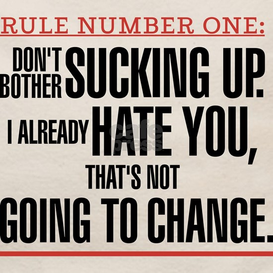 Grey's Anatomy Rule Number One