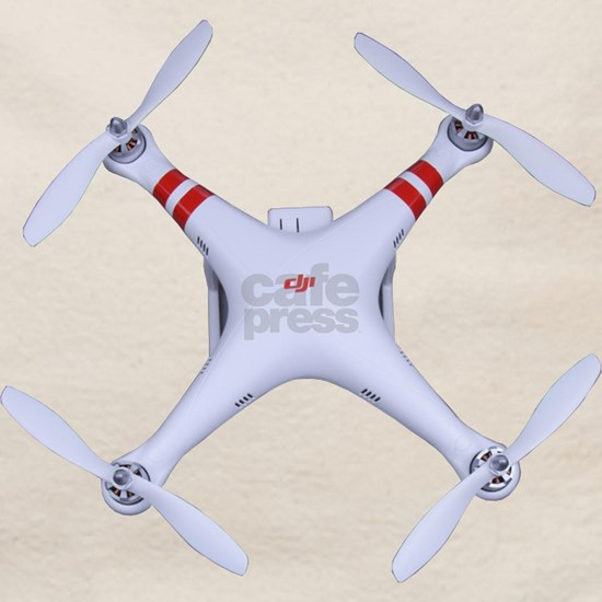 DJI Phantom Quadcopter Top View