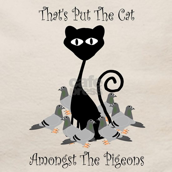 Cat Amoungst Pigeons