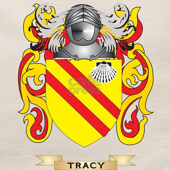 Tracy Family Crest Coat Of Arms Tote Bag By Tshirts Plus