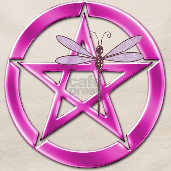 Pink Pentacle Dragonfly