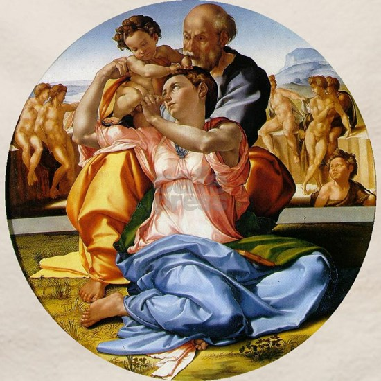 The Holy Family with Infant St John