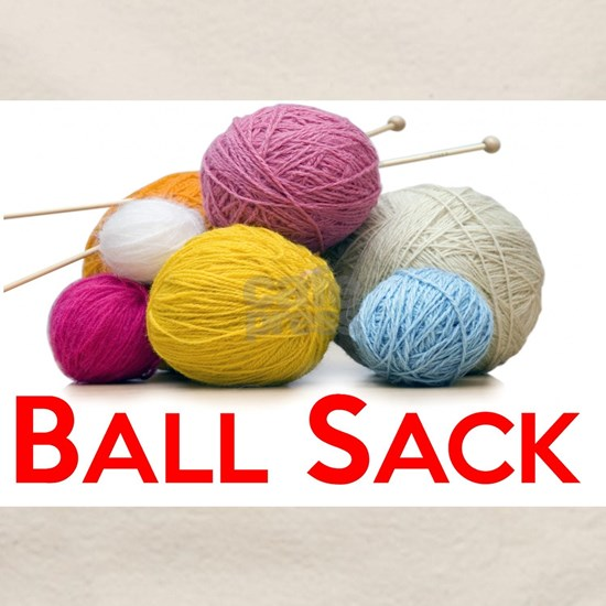 Knitting Ball Sack - Gifts for Knitters
