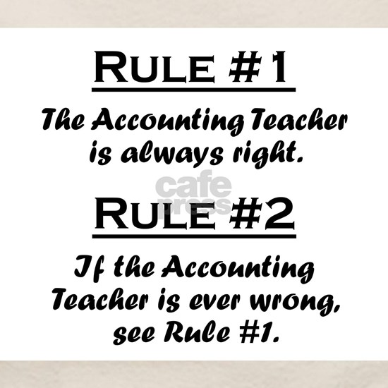 Rule Accounting Teacher