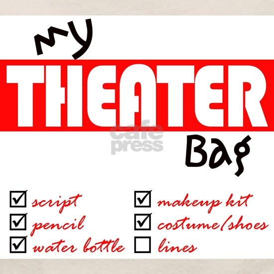 My Theater Tote Bag By Community Theater Green Room