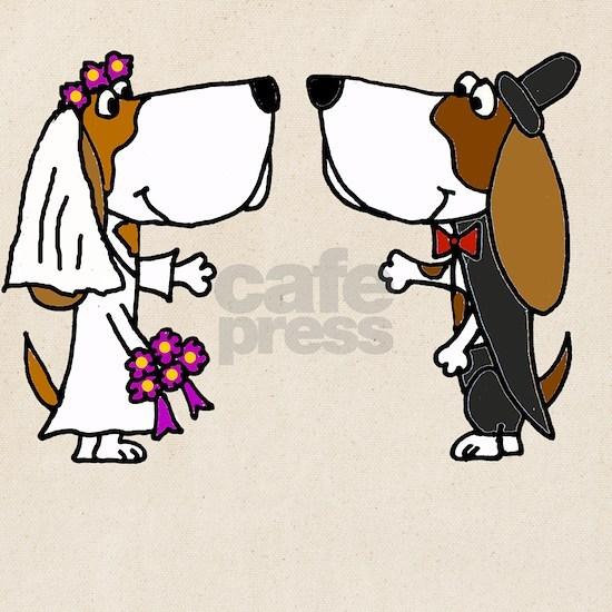 Basset Hound Wedding