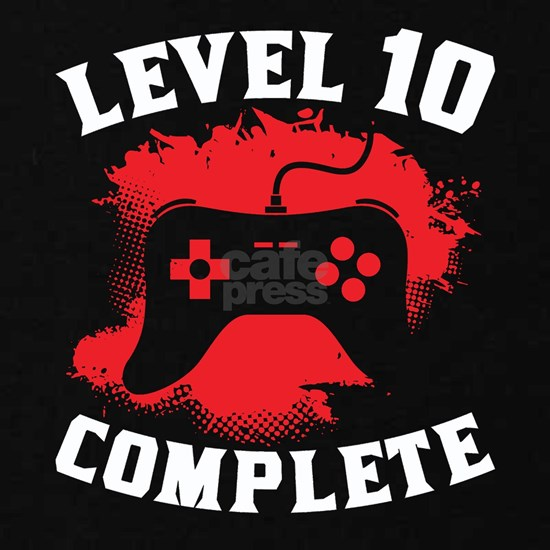 Level 10 Complete 10th Birthday
