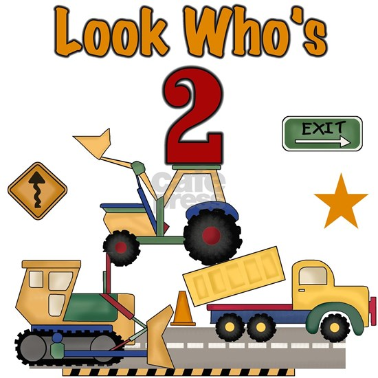 Construction Vehicles 2nd Birthday