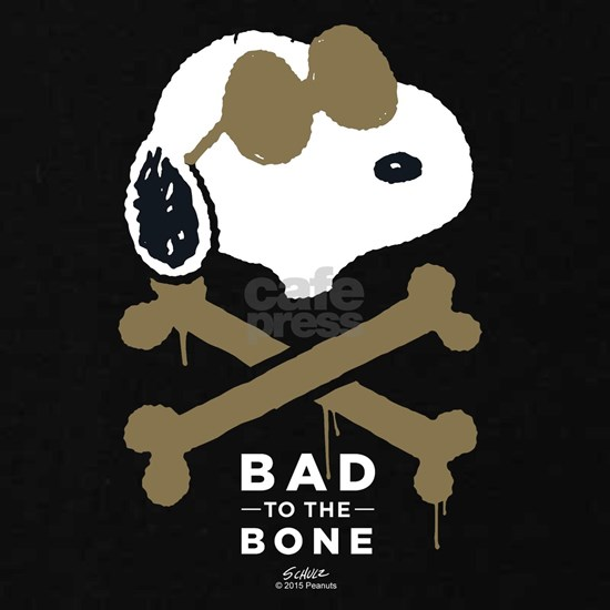 Peanuts Bad to the Bone Dark Only