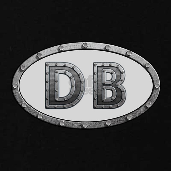 DB Metal Kids Dark T-Shirt by Hippie - CafePress