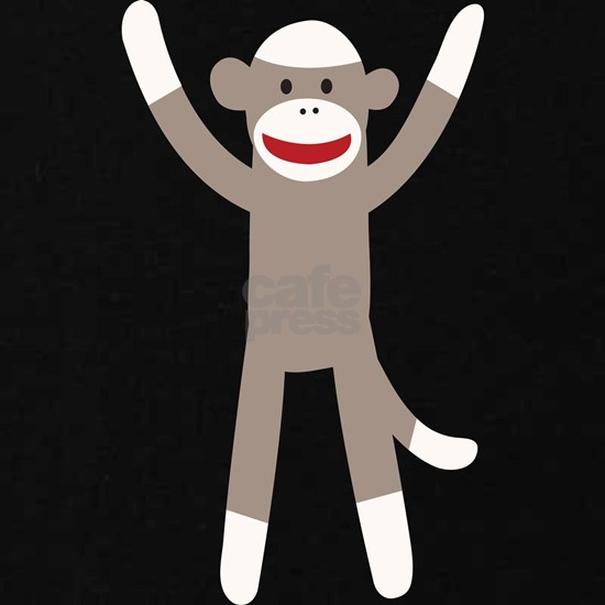 Excited Sock Monkey