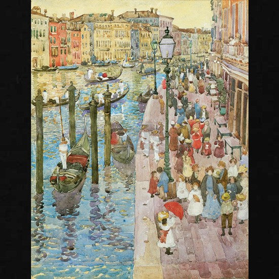 Maurice Prendergast Venice Grand Canal