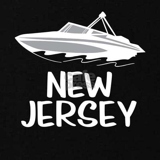 Boat On The Lake New Jersey Fun Boat Shirts