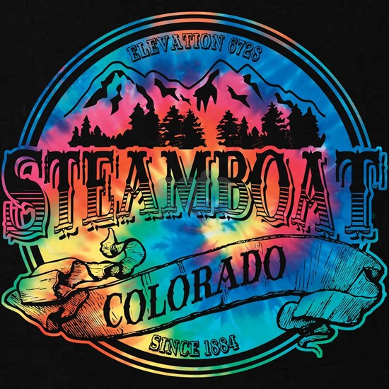 Steamboat Old Tie Dye 2