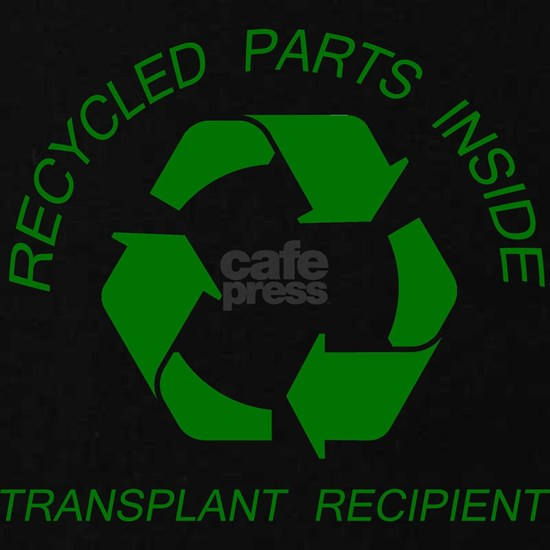RECYCLED PARTS INSIDE