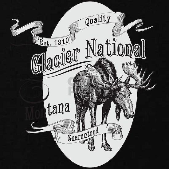 Glacier National Vintage Moose