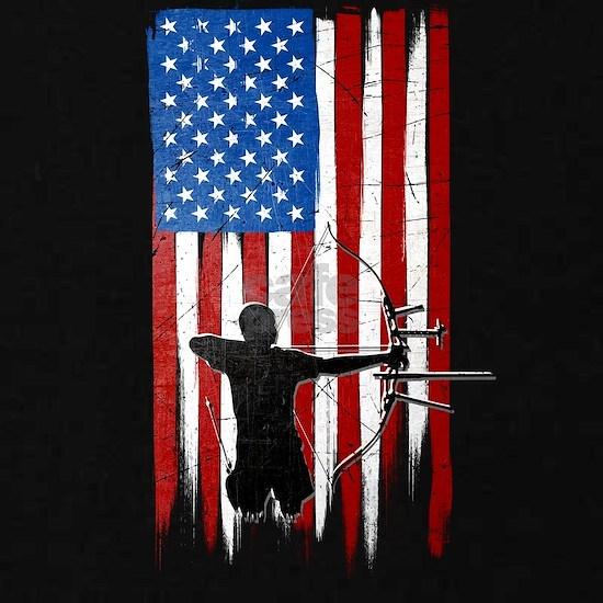 USA Flag Team Archery