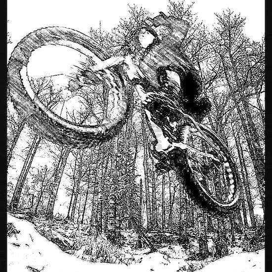 Flying fatbike