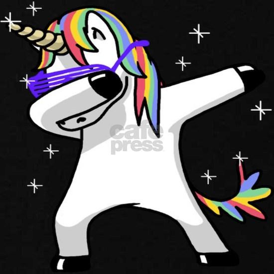 unicorn dabbing