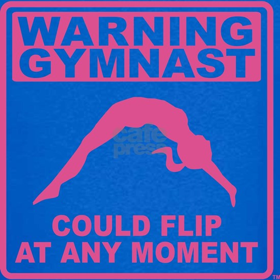Warning Gymnast Could Flip